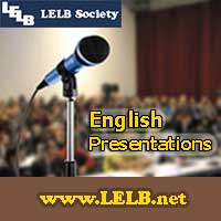English Presentations LELB Society