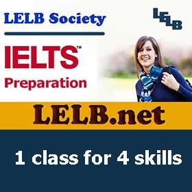IELTS Preparation Course LELB Society