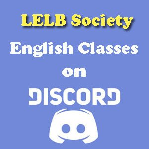 English Classes on Discord LELB Society