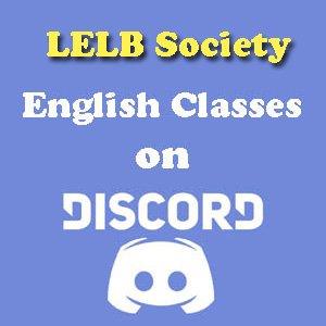 English Classes on Discord LELB Society