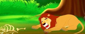 the lion and the mouse the lion was sleeping LELB Society
