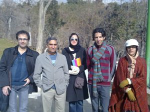 English-Tours-in-Iran-Mellat Park LELB Society
