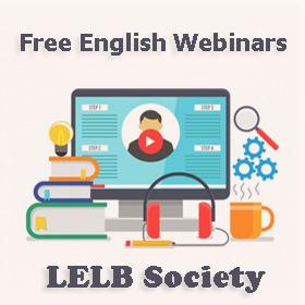 Free English Webinar LELB Society