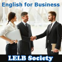 English in the Workplace | English for Business – LELB Society