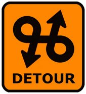 Detour | English Flashcard for Detour - LELB Society