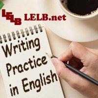 Writing Practice in English