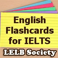 English Flashcards for IELTS & TOEFL