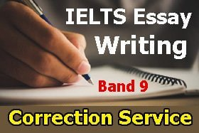 IELTS Essay Writing Correction Service