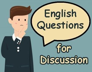 English Question about Social Life for Discussion