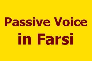 Passive Voice in Farsi - LELB Society