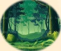ترس شاهزاده از تاریکی شب در جنگل