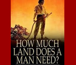 How much land does a man need by Leo Tolstoy as a great short story to practice English at LELB Society with flashcards and podcast
