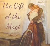 The Gift of the Magi by O. Henry to learn English with short stories at LELB Society with flashcards to learn vocab and improve reading