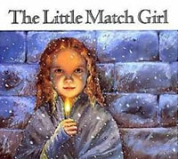The Little Match Girl by Hans Christian Andersen as a great English short story to improve your English vocabulary and enjoy liteature with flashcards
