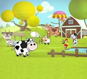 the sound of farm animals
