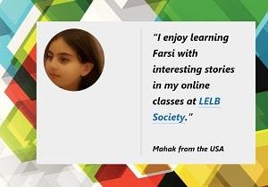 online Persian class for children