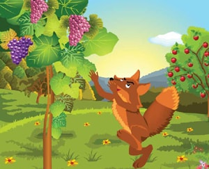 Learn Persian Online Story fox and grapes at LELB Society with podcast and full text