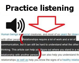 Practice-listening-by-selecting-any-text-and-listening-to-it-at-LELB-Society