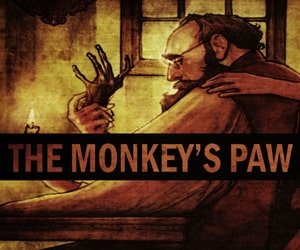 The Monkey's Paw by W.W. Jacobs to practice vocabulary and listening at LELB Society