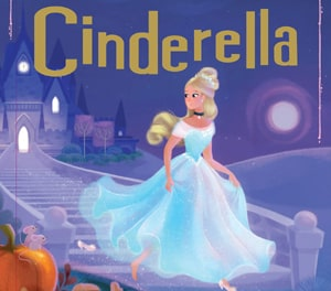 Cinderella English fairy tale at LELB Society with flashcards and a podcast to improve your listening and reading and vocabulary