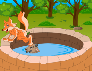 The Fox and the Goat - An English Fairy Tale by Aesop at LELB Society to practice English