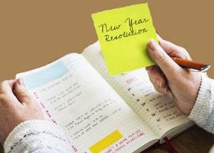 set new year's resolutions at LELB Society