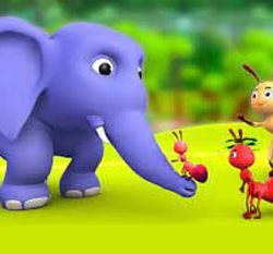 Learn Persian with Stories at LELB Society - Story of Elephant and Ant