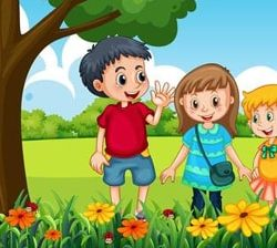 Learn Colors in Farsi for Kids at LELB Society - Learn Persian Online for Kids