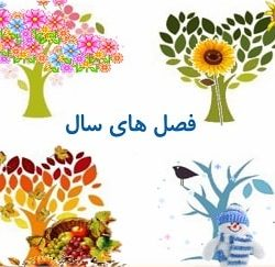 Learn Seasons in Farsi for Kids at LELB Society - Learn Persian for Kids